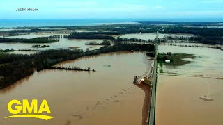 Catastrophic floods force thousands to evacuate after dams collapse l GMA