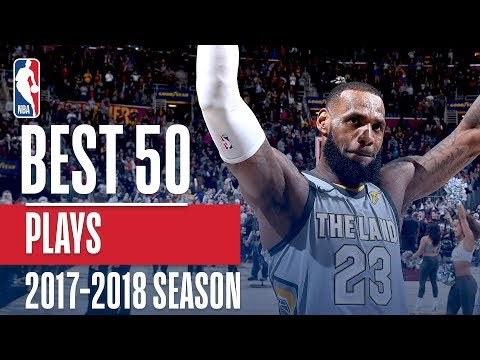 Best 50 Plays of the 2018 NBA Regular Season