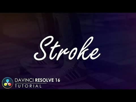 Davinci Resolve 16 Tutorial | Brush Stroke | Text Animation