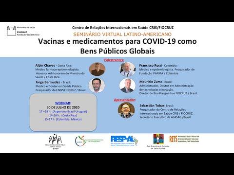 Vacinas e medicamentos para COVID-19 como bens públicos globais