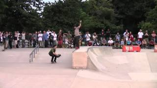 Chris Cole: Cold War Tour (Zero Demo) at Wilson Skatepark 2013-08-08