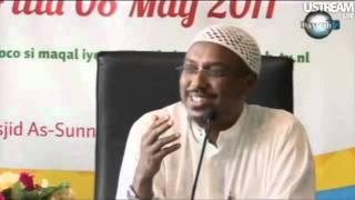 sheikh  mustafe xaaji ismail {new lecture 2011} GUURKA.