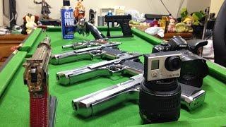 Tokyo Marui #Promocao 3 Desert Eagle  Colt t Revolver Smith