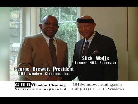 NBA Seattle Superstar Slick Watts endorses GHB Window Cleaning Inc.(30 Seconds)