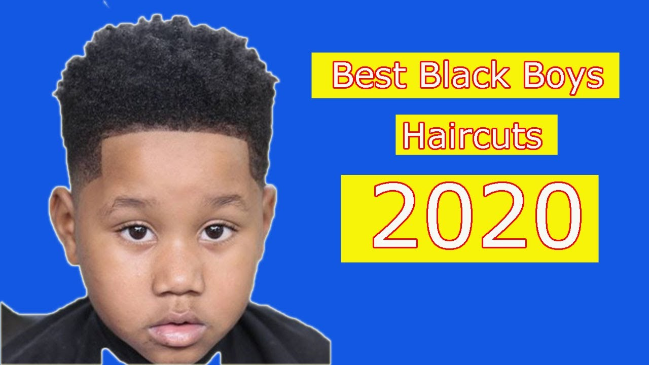 Best Black Boys Haircuts African Boys Haircuts 2020 Youtube