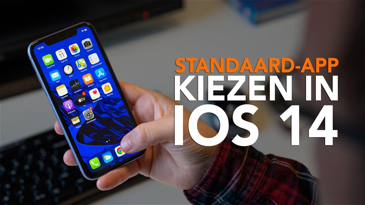 Standaard-apps instellen met iOS 14: zo doe je dat!