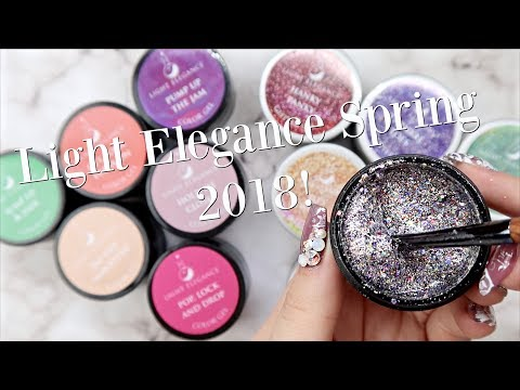 Light Elegance Spring 2018 Collection | Swatches, Comparisons and Review!