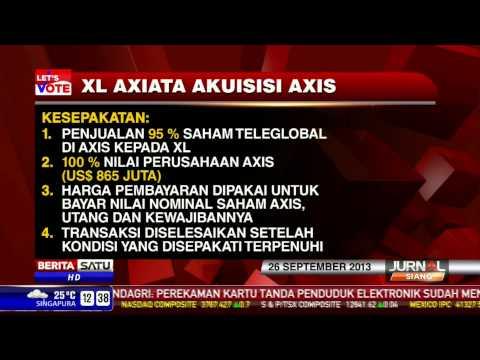 XL Axiata Akuisisi Axis
