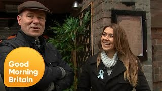 Kym Marsh Gives Richard a Look at the New Corrie Set! | Good Morning Britain