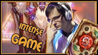 Super intense game vs Quest Rogue | Resurrection Priest | Rastakhan's Rumble | Hearthstone