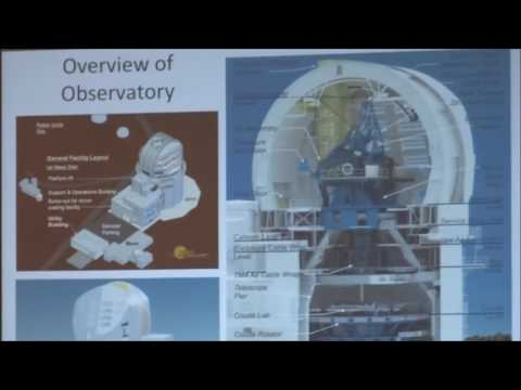 SolarFest 2016 - David Elmore  Instrumentation for the Daniel K Inouye Solar Telescope