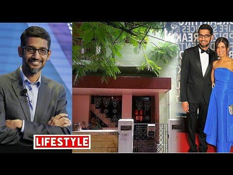 Sundar Pichai (Google CEO) Net worth, Salary, Car, House, Family and  Lifestyle life | 2017