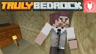Truly Bedrock S1 : E30 - Redstone Maze - Sand Piston Door (Floor 1)
