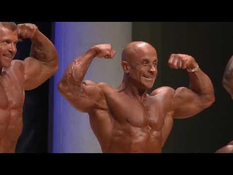 Men Bodybuilding 50 54 Years Up To 80kg IFBB World Master 2019