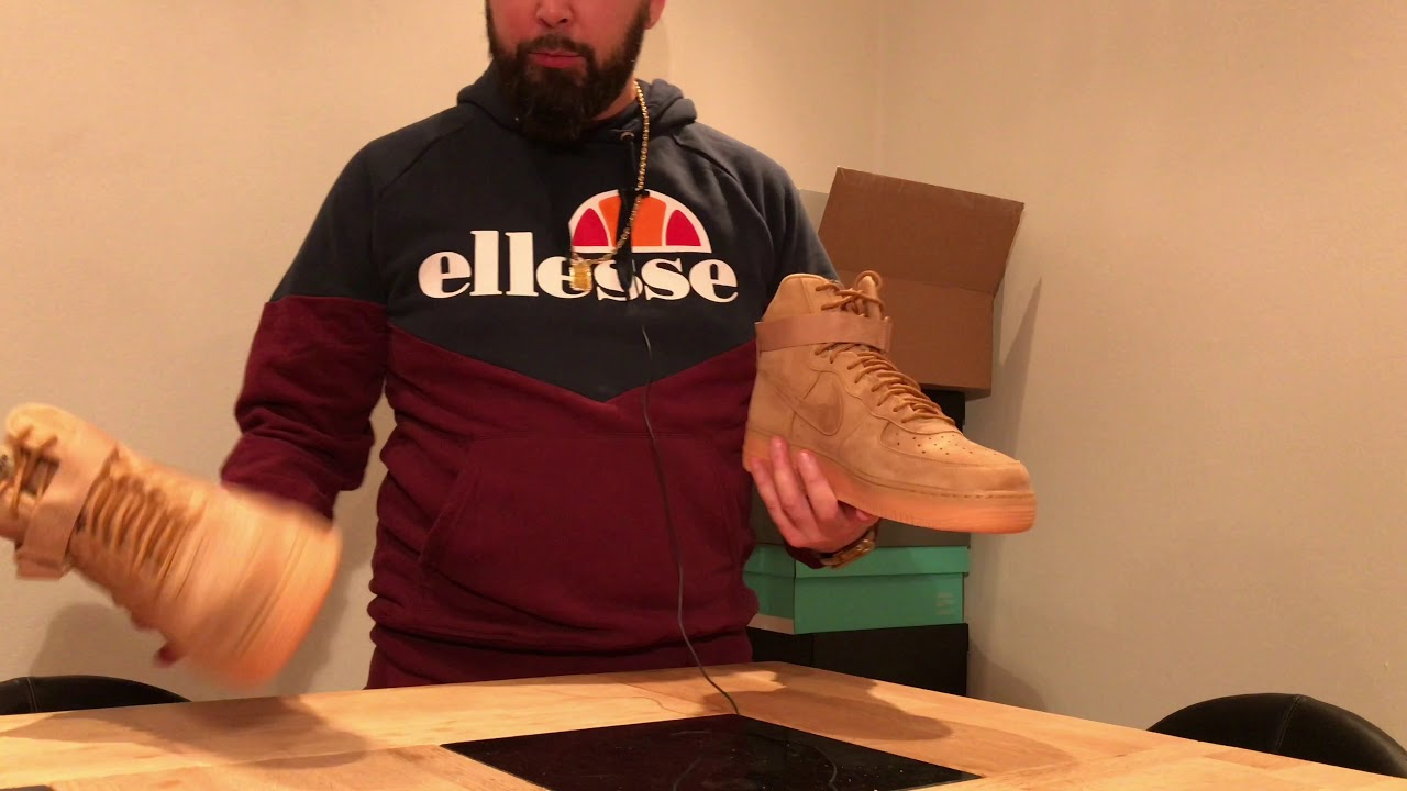 9f9d5c33db41 Review   Nike Air Force 1 High