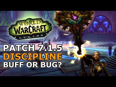 7.1.5 Discipline Priest - Bug Or Massive Buff?