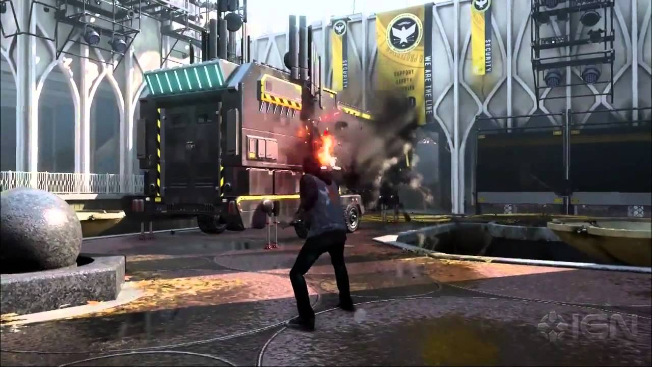 Infamous: Second Son Gameplay Demo 2 - IGN Live - E3 2013 ...