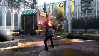 infamous second son gameplay demo 2 ign live e3 2013