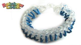Как плести браслет из резинок Монстр Тэйл How to weave rubber band bracelet