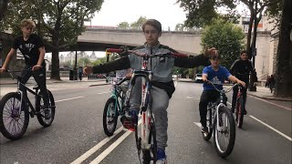 TAKING OVER LONDON WITH NO FRONT WHEEL!! (INSANE)
