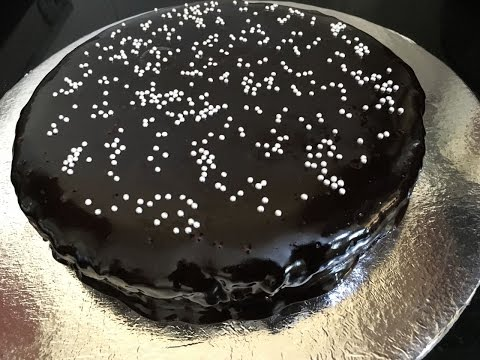 Eggless Chocolate Cake - Recipe | Easy Recipe |Learn In 6 Minutes Or Less