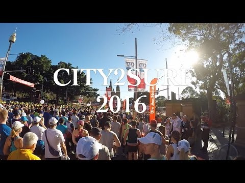 City2Surf 2016 - You won't believe what we see along the way!