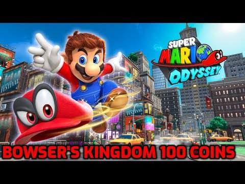 Super Mario Odyssey 100 Bowser S Kingdom Purple Coins