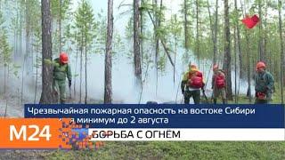 """""""Москва и мир"""": новый корпус и борьба с огнем - Москва 24"""