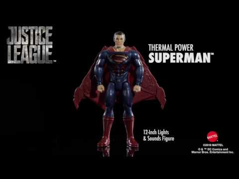 Justice League Thermal Power Superman 12-inch Figure | Toys R Us Canada