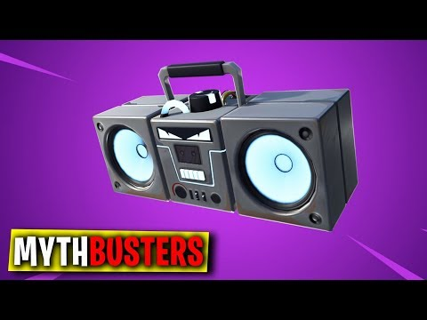 FORTNITE MYTHBUSTERS #23