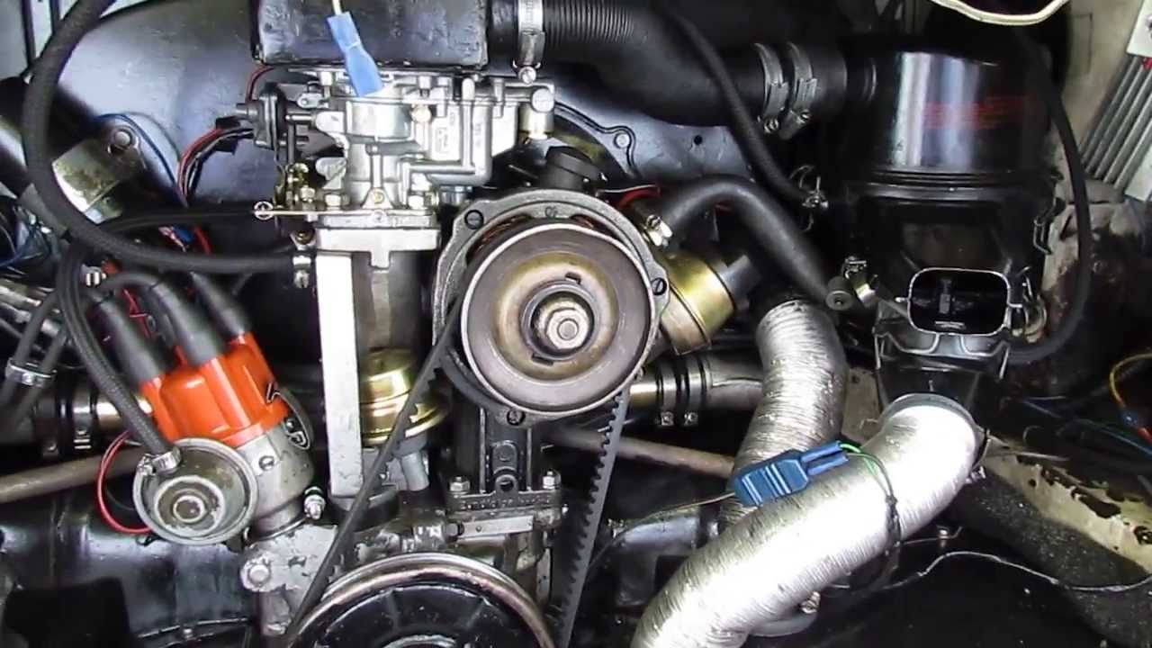 A Quick Tour Of My Weber 32 36 Progressive Carburettor Installation Empi Wiring Diagram In Vw T2 Camper Youtube