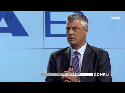 ZONA B - Hashim Thaçi - 12.11.2018 - Klan Kosova