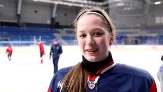 Урок хоккея для друзей из детского дома имени Х. Совмена