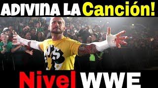 ADIVINA LA CANCIÓN | ESCUCHANDO EL INSTRUMENTAL | VERSIÓN WWE