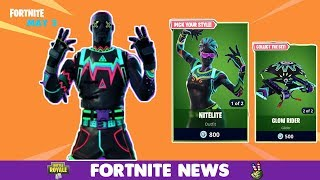 Fortnite ITEM SHOP May 3 2018! NEW SKINS! LITESHOW & NITELITE!!!