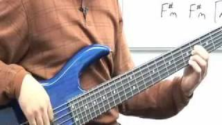 Friend of God (bass lesson in E)