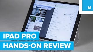 Hands-on Review: Apple iPad Pro, Apple Pencil & Smart Keyboard | Mashable