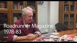 Interview: Donald Robertson, editor Roadrunner magazine | UOW Library