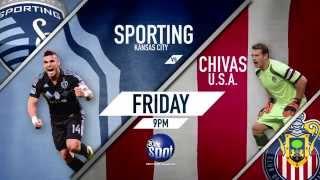 Sporting KC vs Chivas USA, Sept. 12 @ 9PM