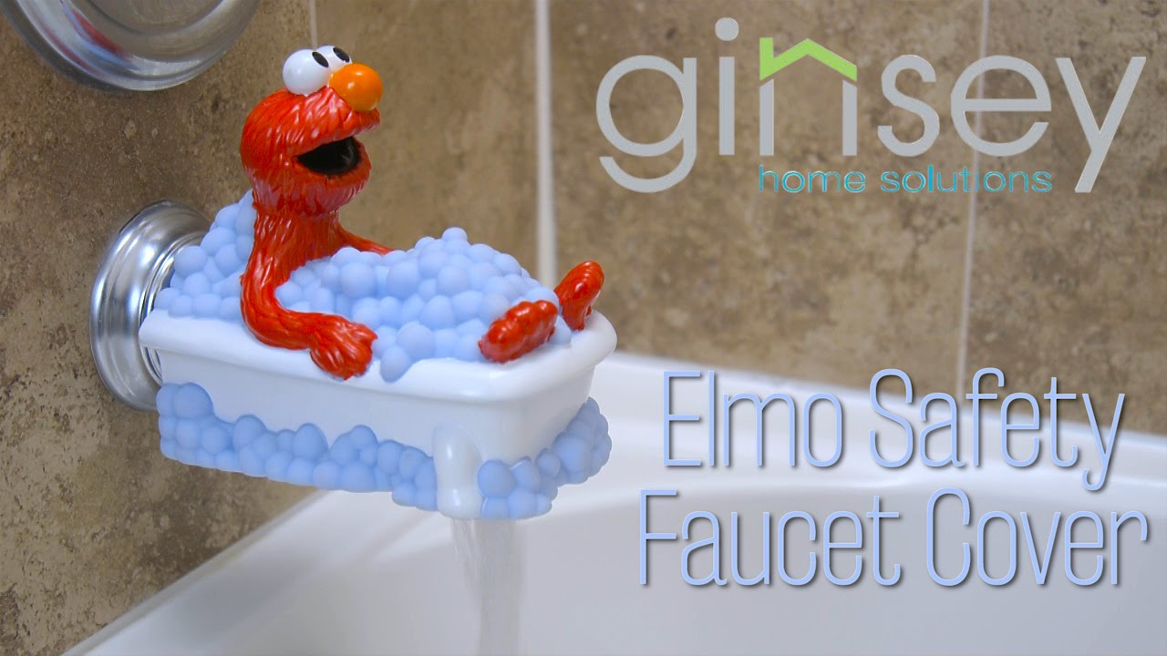 Ginsey Elmo Safety Faucet Cover - YouTube