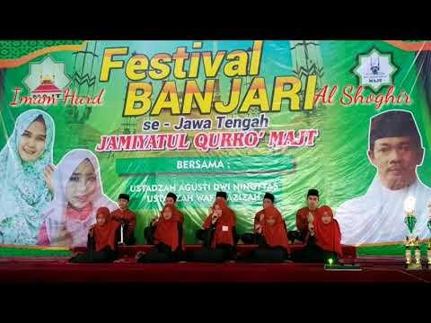 JQH Al Furqon IAIN Salatiga Juara 2 Festival Al Banjari se Jawa Tengah di MAJT