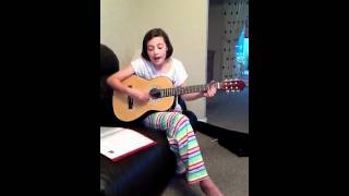 "Me playing ""Chasing Cars"" by Snow Patrol on my Accoustic Guitar"