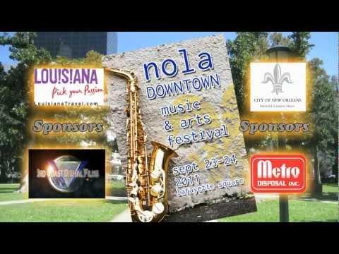 Downtown NOLA Music & Arts Festival 2011
