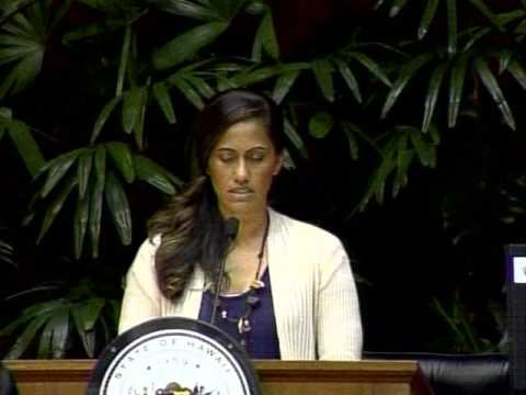 Invocation  by Representative Andria P.L Tupola on the floor of the Hawaii House of Representatives