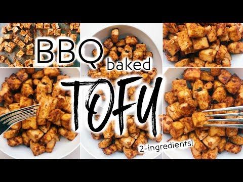 BBQ Baked Tofu! / Easy, Everyday Barbecue Tofu WOOHOO!