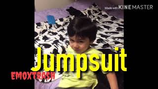 Jumpsuit and levitate by twenty one pilots sang by my friends little brother