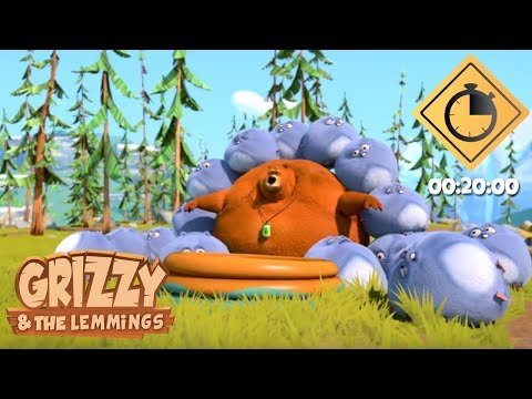 Compilation 20 min #01 - Grizzy & les Lemmings