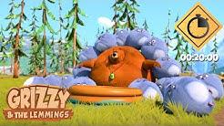 20 minutes de Grizzy & les Lemmings // Compilation #01 - Grizzy & les Lemmings