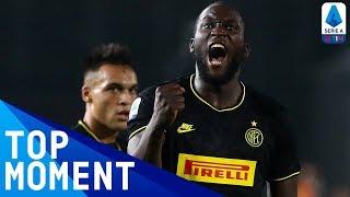 Lukaku Smashes In His 7th Serie A Goal! | Brescia 1-2 Inter | Top Moment | Serie A