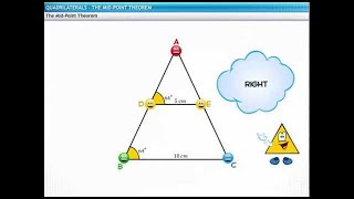 CBSE Class 9 Mathematics, Quadrilaterals – 3, Mid-Point Theorem